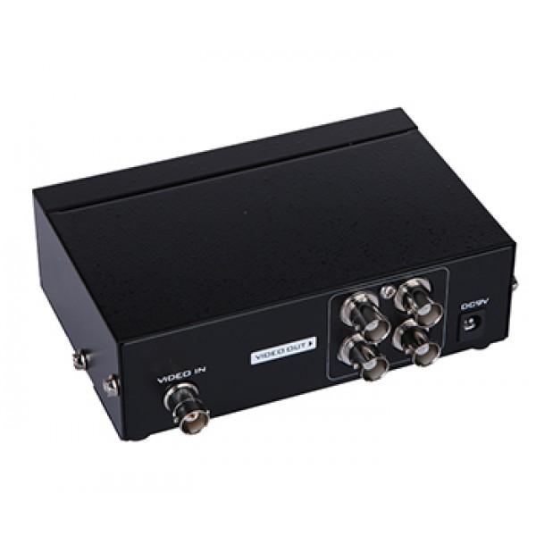 Сплиттер BNC 1x4 Mt-Viki MT-2804 (50Hz / 5MHz)