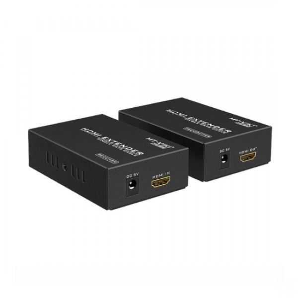 Удлинитель MT-9110 HDMI сигнала по витой паре (+аудио) до 100м