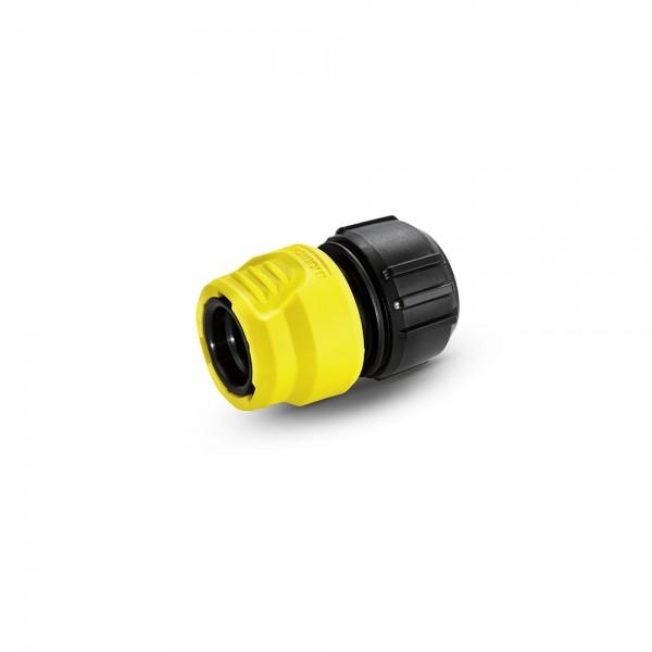 Коннектор Karcher универсальный с аквастопом для шланга 1/2, 5/8, 3/4 Loose (2.645-202.0)