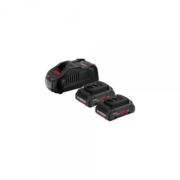 Набор аккумуляторов Bosch ProCORE 18 V/4.0 Ah 2шт. + зарядное устройство