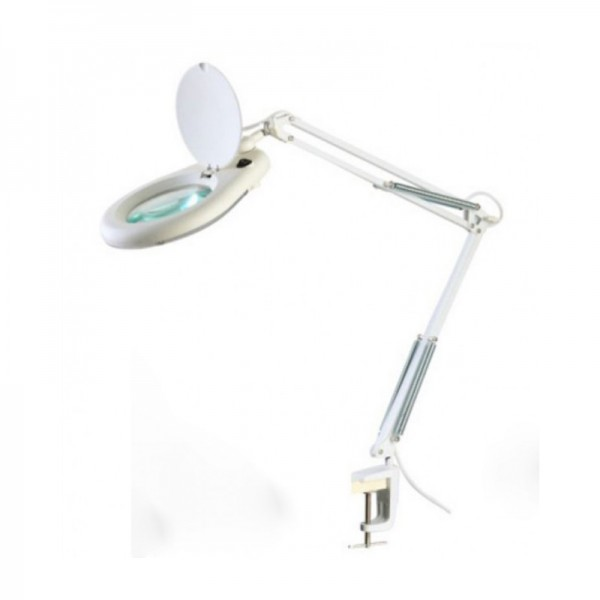 Лампа-лупа Zhongdi ZD-129A LED, 5 диоптрии, диам.-130мм