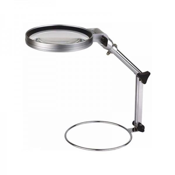 Настольная лупа Magnifier MG83024-1, увел.- 2Х с Led