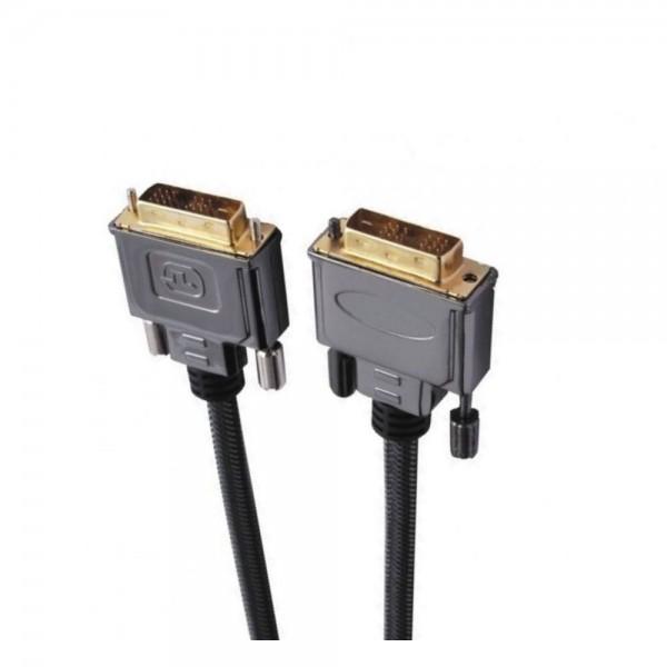 Шнур E-Cable DVI - DVI, 5м, Hi-Fi (EС505512)