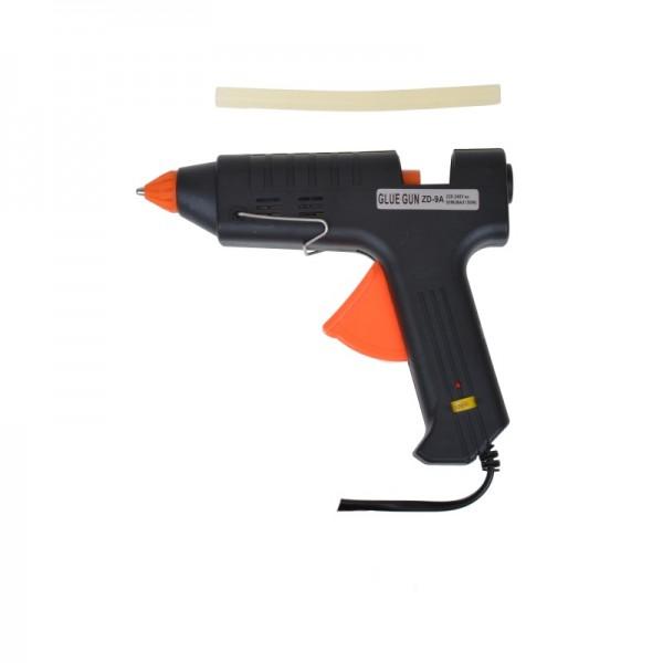 Пистолет клеевой Zhongdi ZD-9A c регулятором температуры, под клей 11мм, 150W