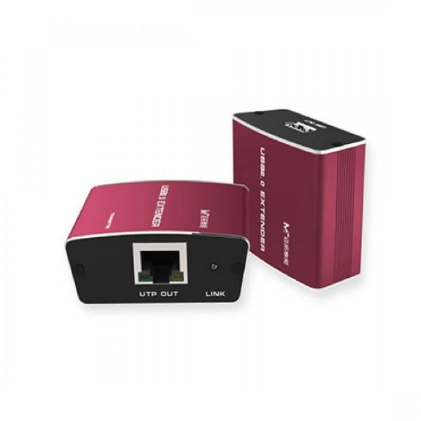 Удлинитель MT-9600 USB сигнала по витой паре до 100м