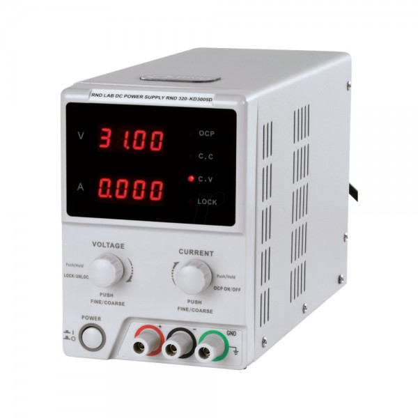 Лабораторный блок питания Korad KD3005D, 30B, 5A