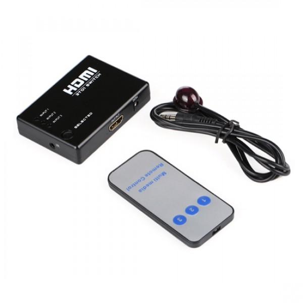 Соеденитель-переключатель HDMI MT-1312 1х3
