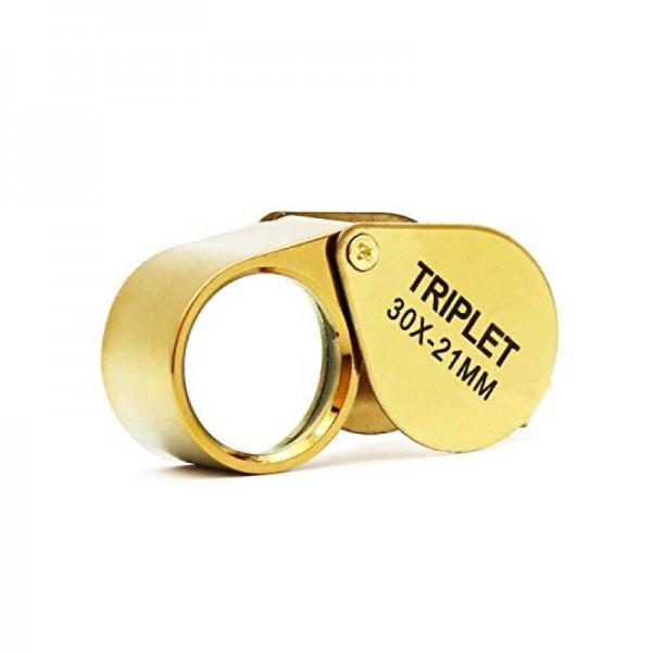 Лупа ювелирная Magnifier MG21170С, увел.- 10X, диам.- 12мм