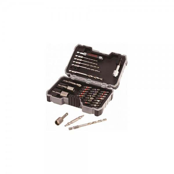 Набор сверл и бит Bosch PRO-Mix Metal, 35 шт.