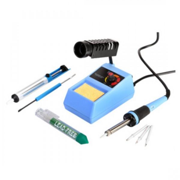 Набор инструментов с паяльной станцией Zhongdi ZD-98 KIT  48 Вт