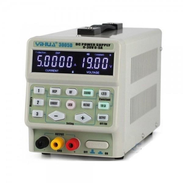 Лабораторный блок питания YIHUA 3005D, 30B, 5A