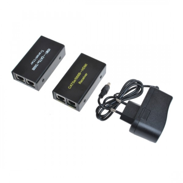 Удлинитель MT-9130 HDMI сигнала по 2 витым парам (+аудио) до 30м