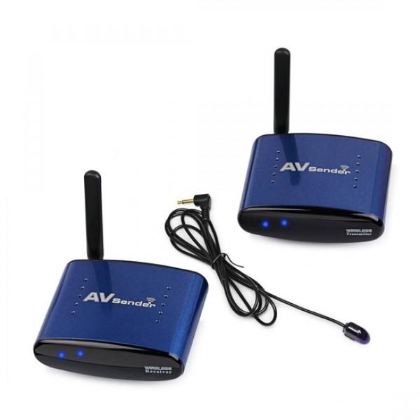 Беспроводной удлинитель AV (RCA) сигнала PAT-530 5.8GHz до 200м